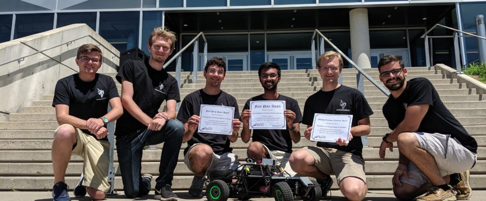 1st Place Overall at IARRC 2019